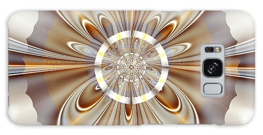 Fractal Galaxy S8 Case featuring the digital art Gossamer by Vicky Brago-Mitchell