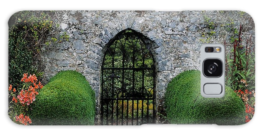 Architecture Galaxy S8 Case featuring the photograph Gothic Entrance Gate, Walled Garden by The Irish Image Collection
