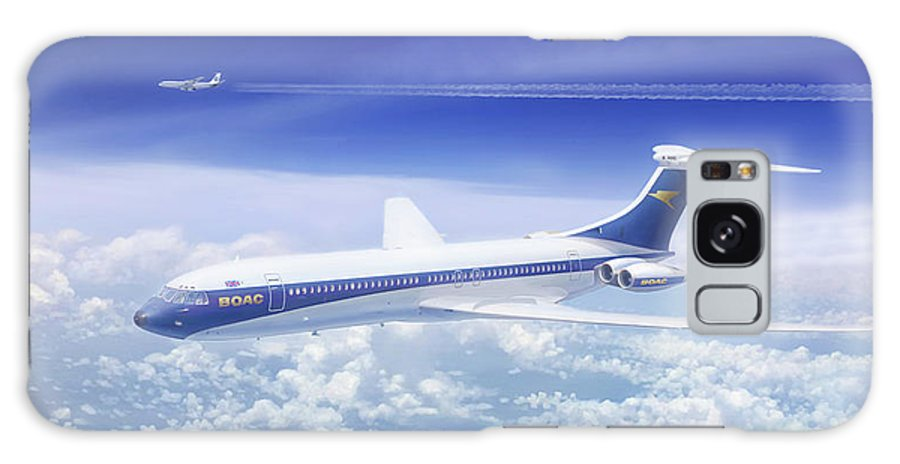 Designed To A Boac Specification Galaxy Case featuring the painting Graceful Lady by Mark Karvon