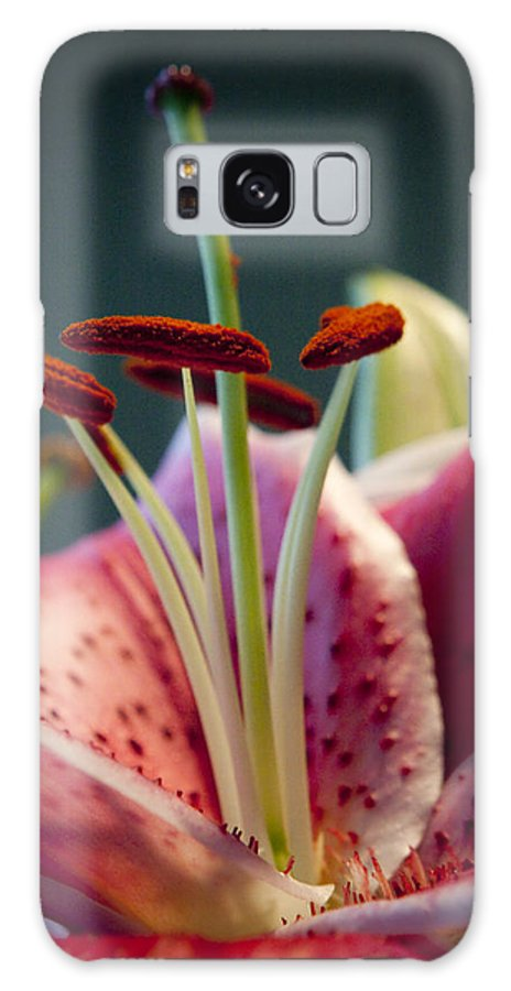 Flora Galaxy S8 Case featuring the photograph Graceful Lily Series 7 by Olga Smith