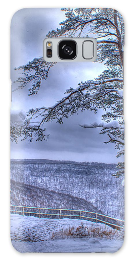 Winter Galaxy S8 Case featuring the photograph Gracious Winter by Douglas Barnett