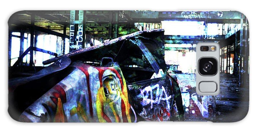 Graffiti Galaxy S8 Case featuring the photograph Graffiti Car by Phill Petrovic