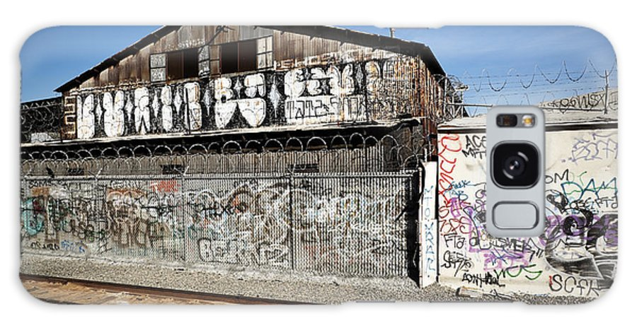 Graffiti Galaxy S8 Case featuring the photograph Graffiti Wall by Kelley King
