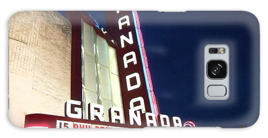 Music Galaxy S8 Case featuring the photograph Granada Theater by Debbi Granruth