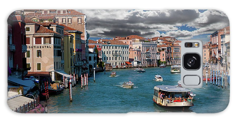 Grand Canal Galaxy S8 Case featuring the photograph Grand Canal Daylight by Harry Spitz