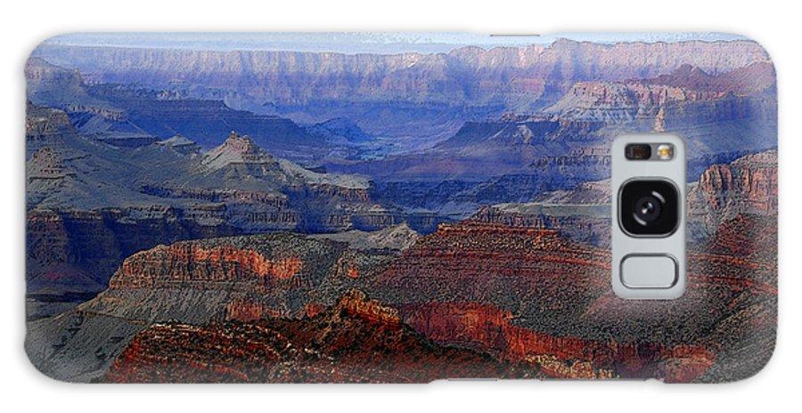 Art Galaxy S8 Case featuring the digital art Grand Canyon Arizona by David Lee Thompson