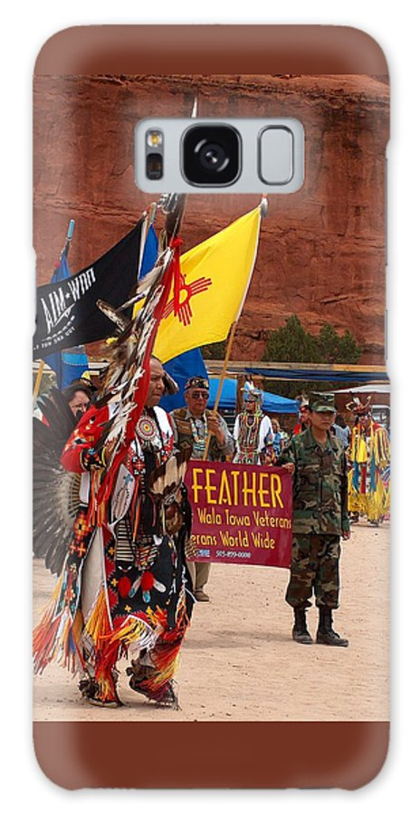 Pow-wow Galaxy S8 Case featuring the photograph Grand Entry At Star Feather Pow-wow by Tim McCarthy