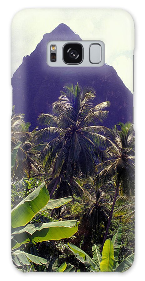 Caribbean Galaxy S8 Case featuring the photograph Grand Piton by Carl Purcell