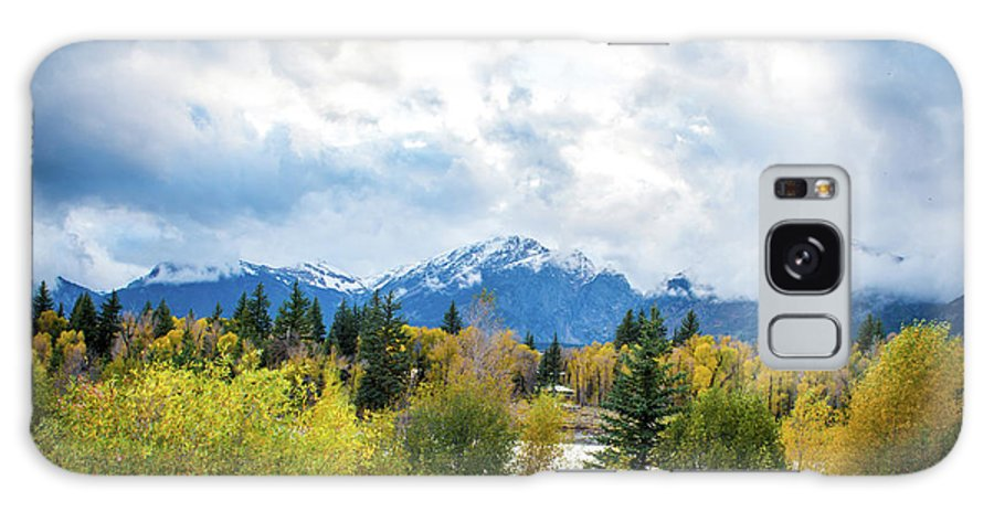 National Parks Galaxy S8 Case featuring the photograph Grand Tetons In The Fall by Aileen Savage