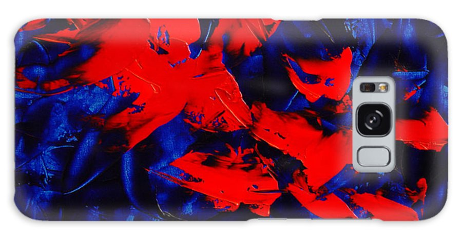 Abstract Galaxy Case featuring the painting Grandma II by Dean Triolo