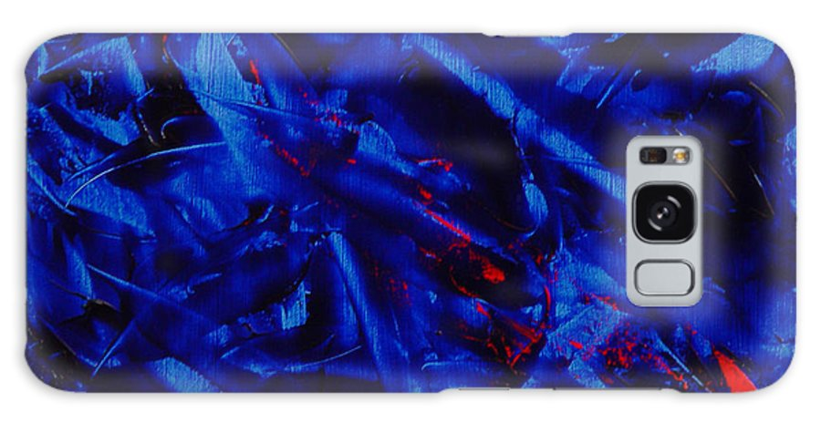 Abstract Galaxy Case featuring the painting Grandma IIi by Dean Triolo