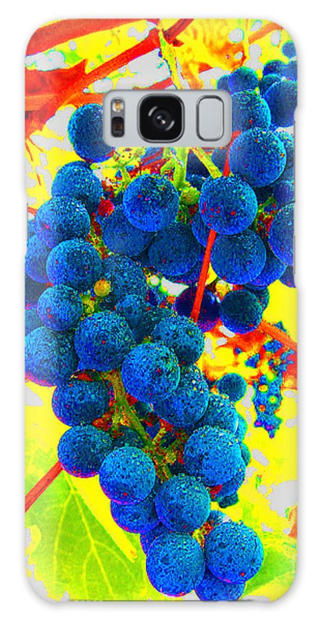 Grapes Galaxy S8 Case featuring the photograph Grapes by Jerome Stumphauzer