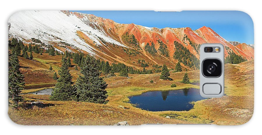 Colorado Galaxy S8 Case featuring the photograph Gray Copper Gulch by Steve Stuller
