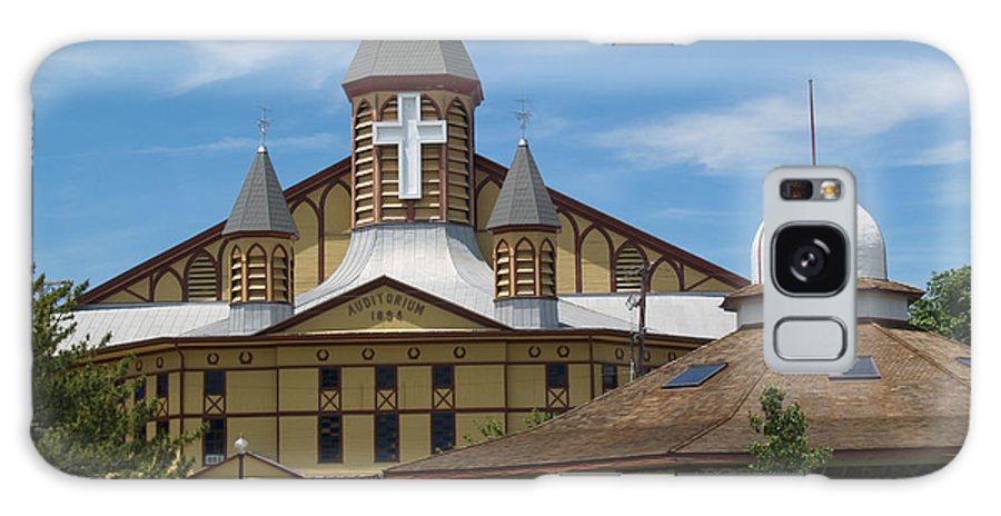 Church Galaxy Case featuring the photograph Great Auditorium Of Ocean Grove New Jersey by Anna Lisa Yoder