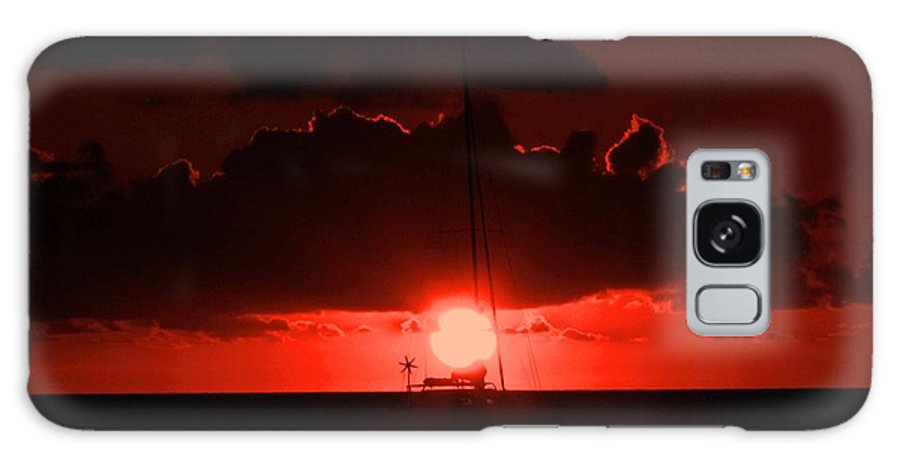 Sunset Galaxy S8 Case featuring the photograph Great Ball Of Fire by Ian MacDonald