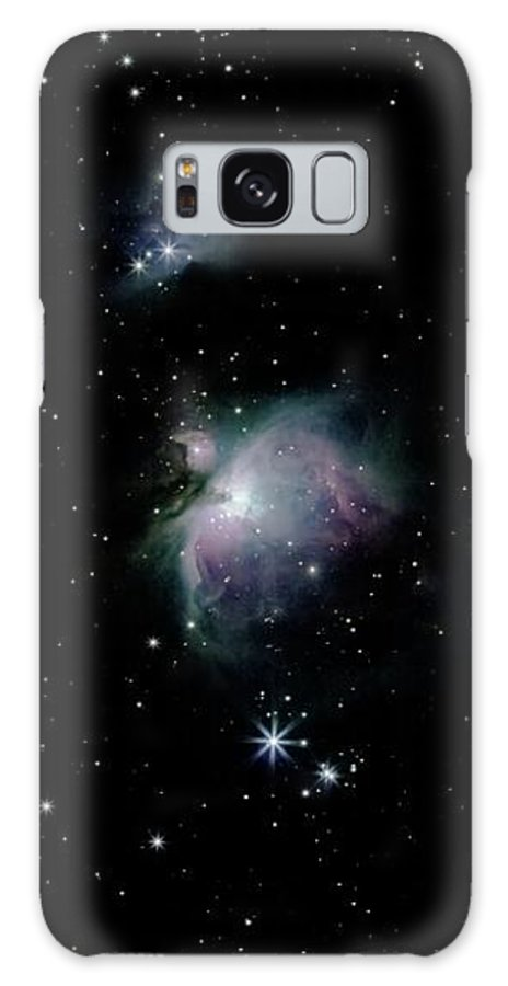 Nebula Galaxy S8 Case featuring the photograph Great Orion Nebula by Eric Kunz
