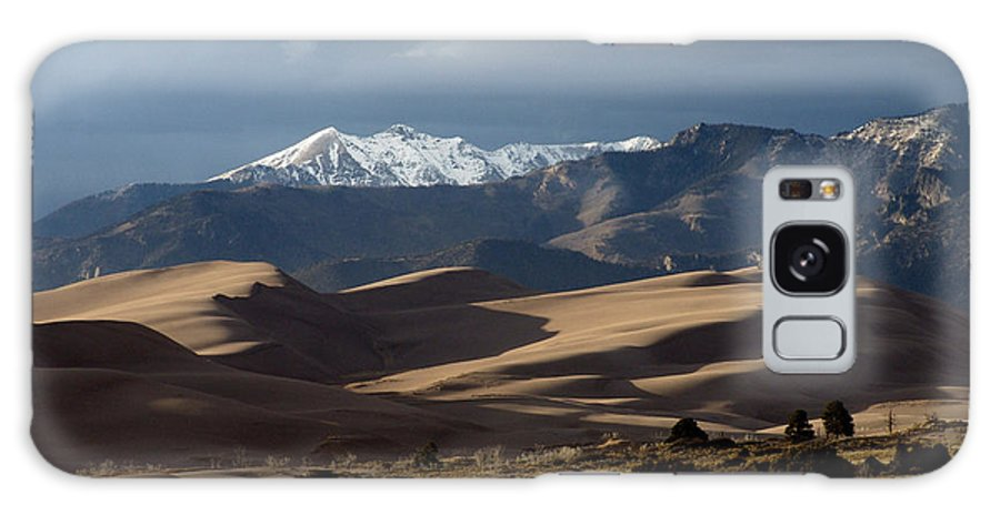 Sand Galaxy S8 Case featuring the photograph Great Sand Dunes National Park by Carol Milisen
