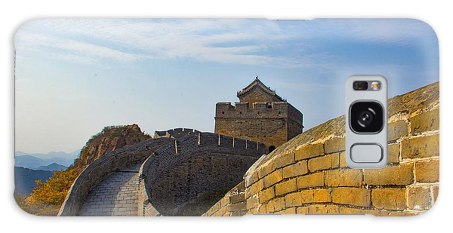 Beijing Galaxy S8 Case featuring the photograph Great Wall Of China by Colleen Bessel