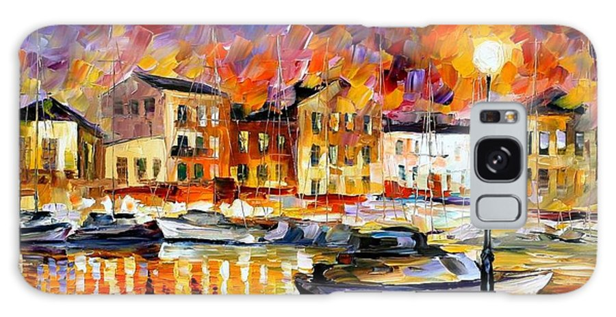 Afremov Galaxy S8 Case featuring the painting Greece by Leonid Afremov