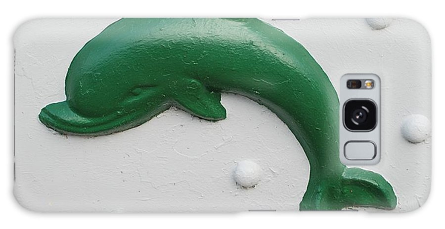 Dolphin Galaxy S8 Case featuring the photograph Green Dolphin by Rob Hans