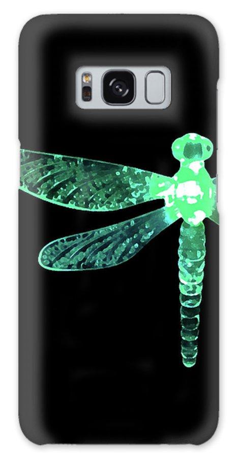 Green Dragonfly Galaxy S8 Case