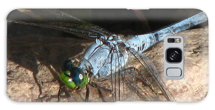 Dragonfly Galaxy S8 Case featuring the photograph Green Eyes by Paul Slebodnick