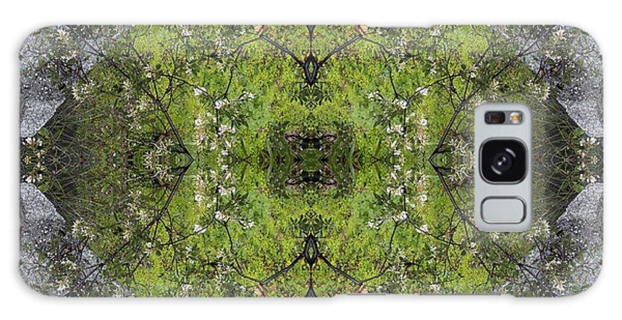 Green Galaxy S8 Case featuring the photograph Green Mandala by Viktor Savchenko