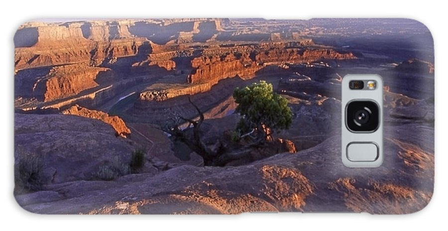 Utah Galaxy Case featuring the photograph Green River Canyon Sunset by Sven Brogren