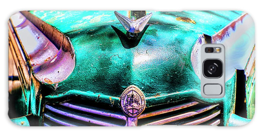 British Cars In Colonia Galaxy S8 Case featuring the photograph Green Vauxhaull by Rick Bragan