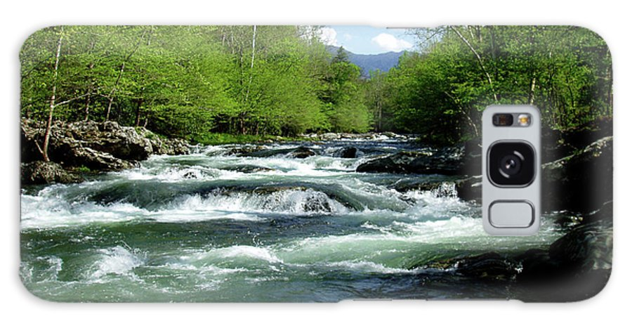 River Galaxy S8 Case featuring the photograph Greenbrier River Scene by Nancy Mueller