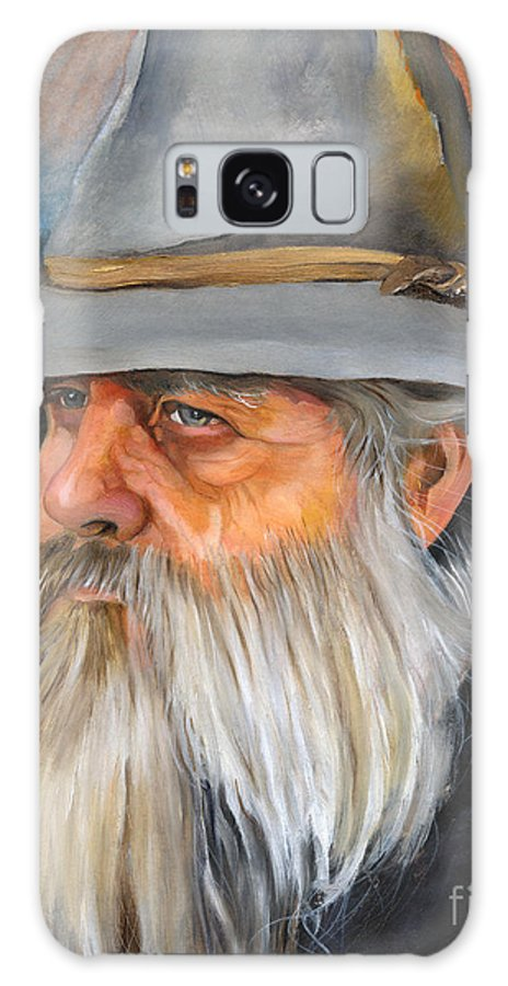 Wizard Galaxy S8 Case featuring the painting Grey Days by J W Baker