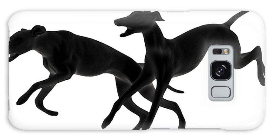Greyhounds Galaxy S8 Case featuring the photograph Greyhounds Travelling At 45 Mph by Christine Till