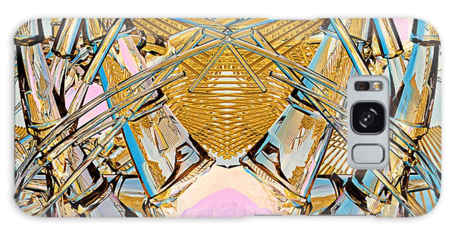 Abstract Galaxy S8 Case featuring the digital art Grobot Experiment 6 by Peter J Sucy