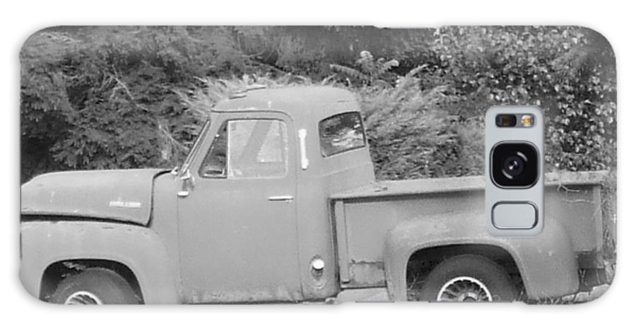 Truck Galaxy Case featuring the photograph Grounded Pickup by Pharris Art
