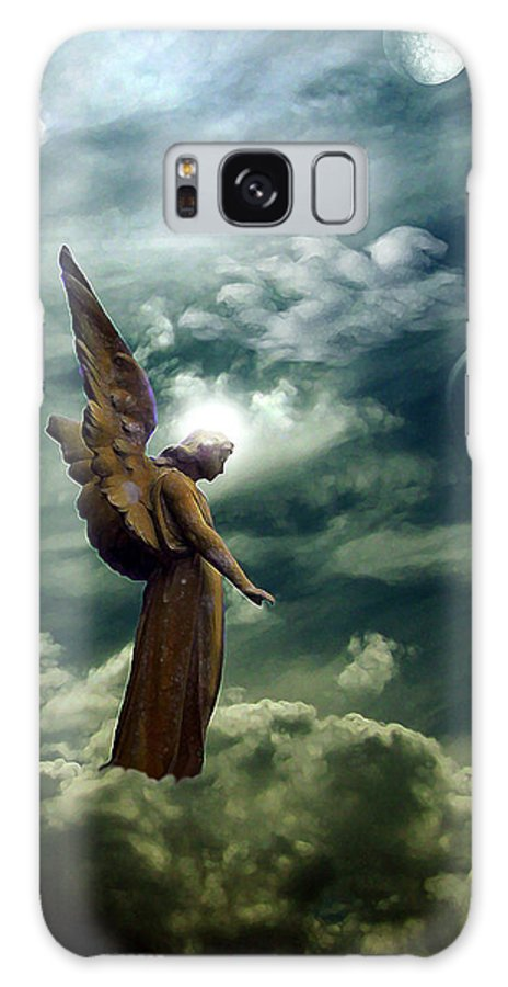 Sky Galaxy S8 Case featuring the digital art Guardian Angel by Ruben Flanagan