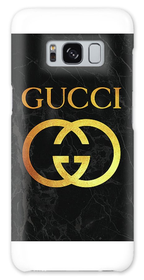 timeless design 99dc5 be019 Gucci - Black And Gold - Lifestyle And Fashion Galaxy S8 Case