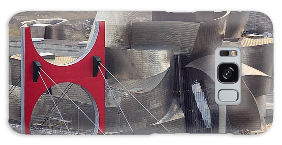 Spain Galaxy S8 Case featuring the photograph Guggenheim Bilbao Museum IIi by Rafa Rivas
