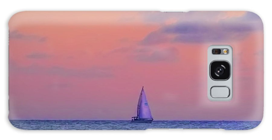 Gulf Galaxy S8 Case featuring the photograph Gulf Coast Sailboat by Bill Cannon