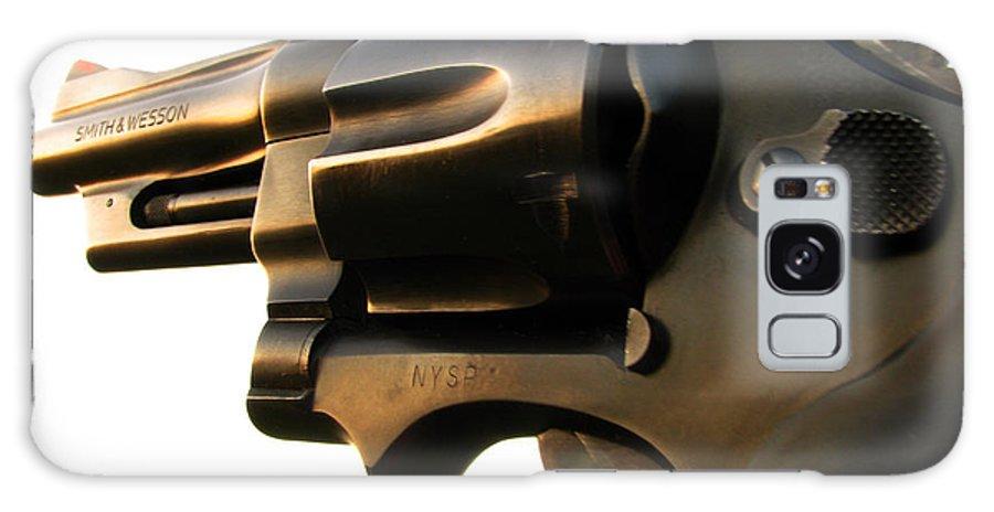 Gun Galaxy S8 Case featuring the photograph Gun Series by Amanda Barcon