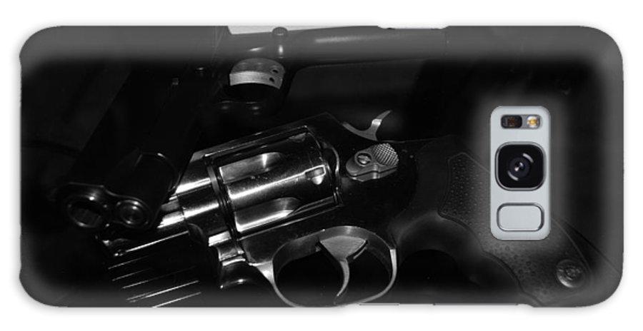 Guns Galaxy Case featuring the photograph Guns And More Guns by Rob Hans