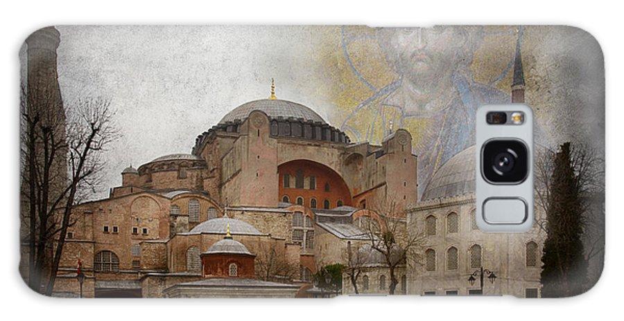 Hagia Sophia Galaxy S8 Case featuring the photograph Hagia Sophia by Naoki Takyo