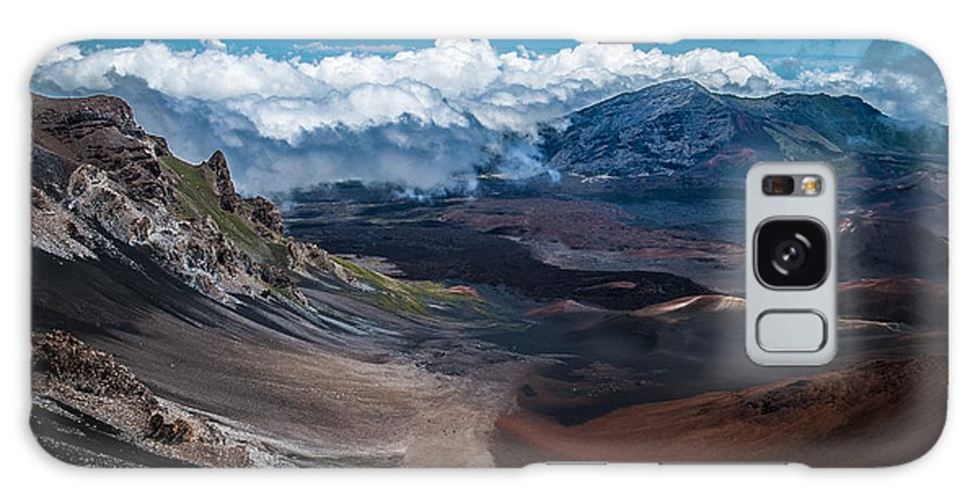 Maui Galaxy S8 Case featuring the photograph Haleakala Crater by Blake Webster