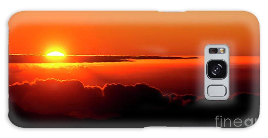 Sunrise Galaxy S8 Case featuring the photograph Maui Hawaii Haleakala National Park Sunrise IIi by Jim Cazel