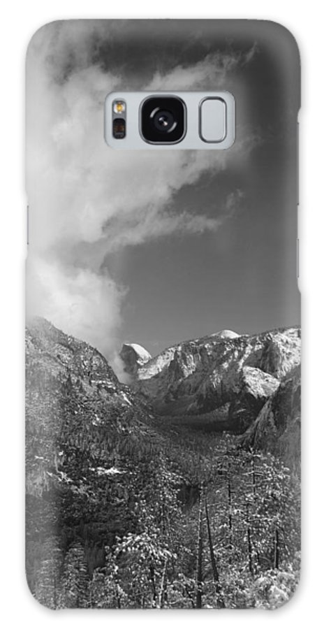 Half Dome Galaxy S8 Case featuring the photograph Half Dome Winter by Travis Day
