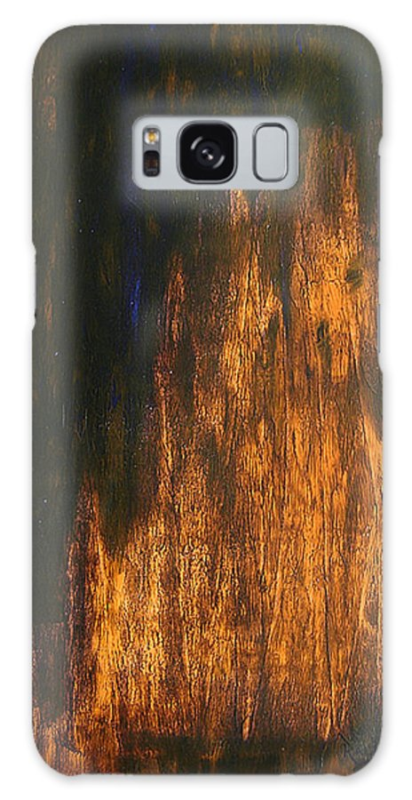 Mystery Galaxy Case featuring the painting Half-faced 2007 by RalphGM