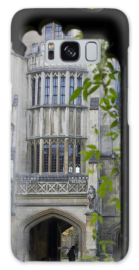 Architecture Galaxy S8 Case featuring the photograph Hallowed Halls In Oxford by Carl Purcell