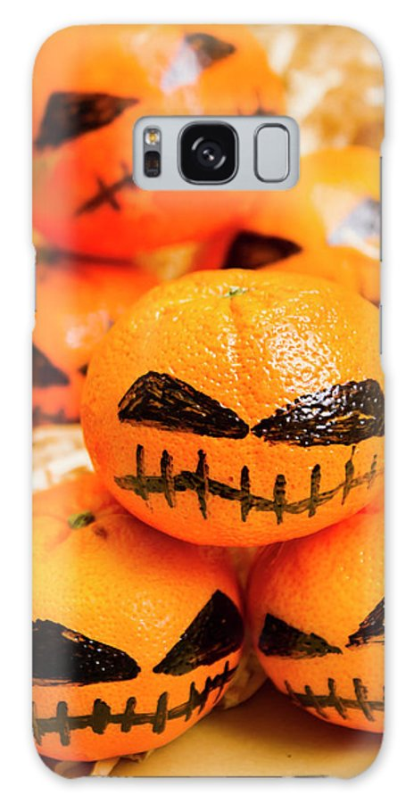 Scary Galaxy S8 Case featuring the photograph Halloween Craft Treats by Jorgo Photography - Wall Art Gallery
