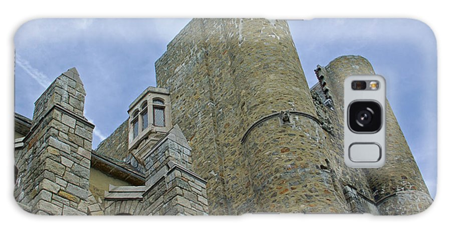 Hammond Castle Galaxy S8 Case featuring the photograph Hammond Castle Detail - Gloucester Ma by Suzanne Gaff