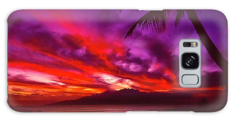 Landscapes Galaxy Case featuring the photograph Hand Of Fire by Jim Cazel