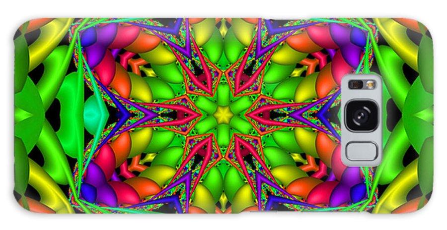 Bright Galaxy S8 Case featuring the digital art Happy Hour by Robert Orinski
